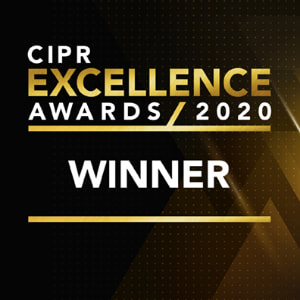 CIPR Excellence Awards 2020 Winner
